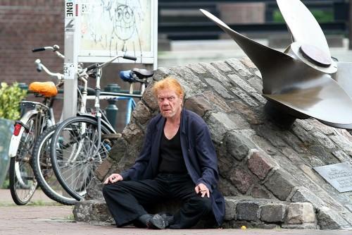 Oraanžide Juustega Mees Amsterdamis