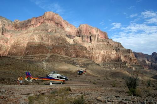 Kopterid Grand Canyonis