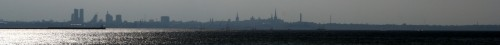 Tallinna siluett Piritalt