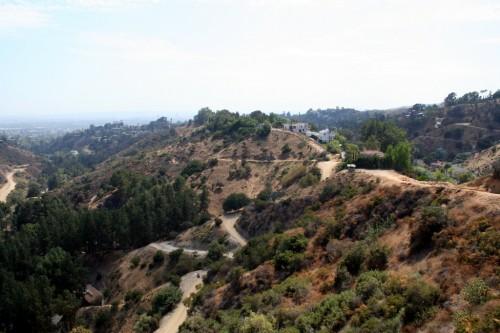 Vaade Hhollywoodi Mäelt LA-le