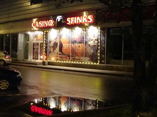 Mustamäe tee - Casino Sfinks
