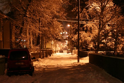 Lumine õhtu nõmmel