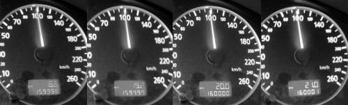 Poolteist minutit ja 160000km