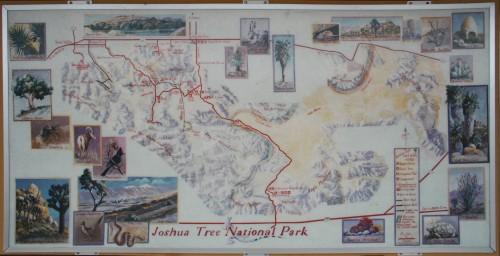 Joshua Tree National Park - Kaart