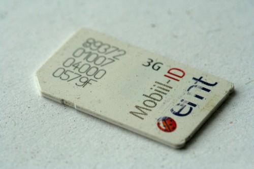 EMT SIM kaart