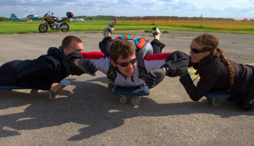 AFF hüppe harjutamine
