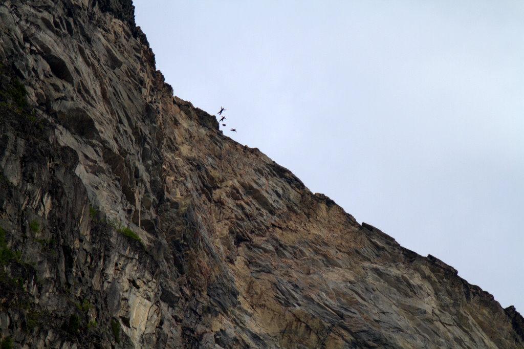 Base jump - Eikesdal